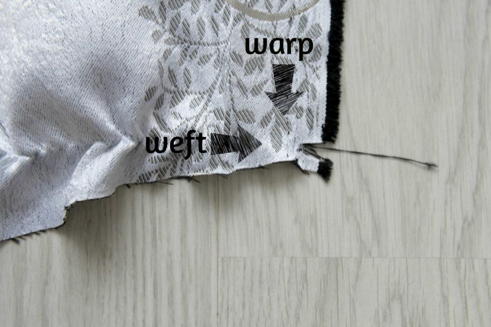 Tutorial: How to square up and true up fabric