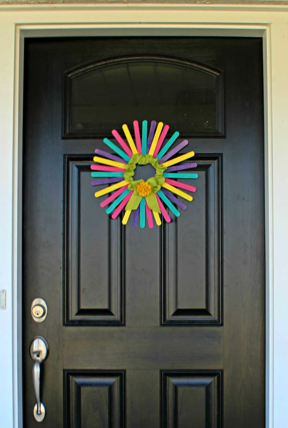 spring wreath for front door