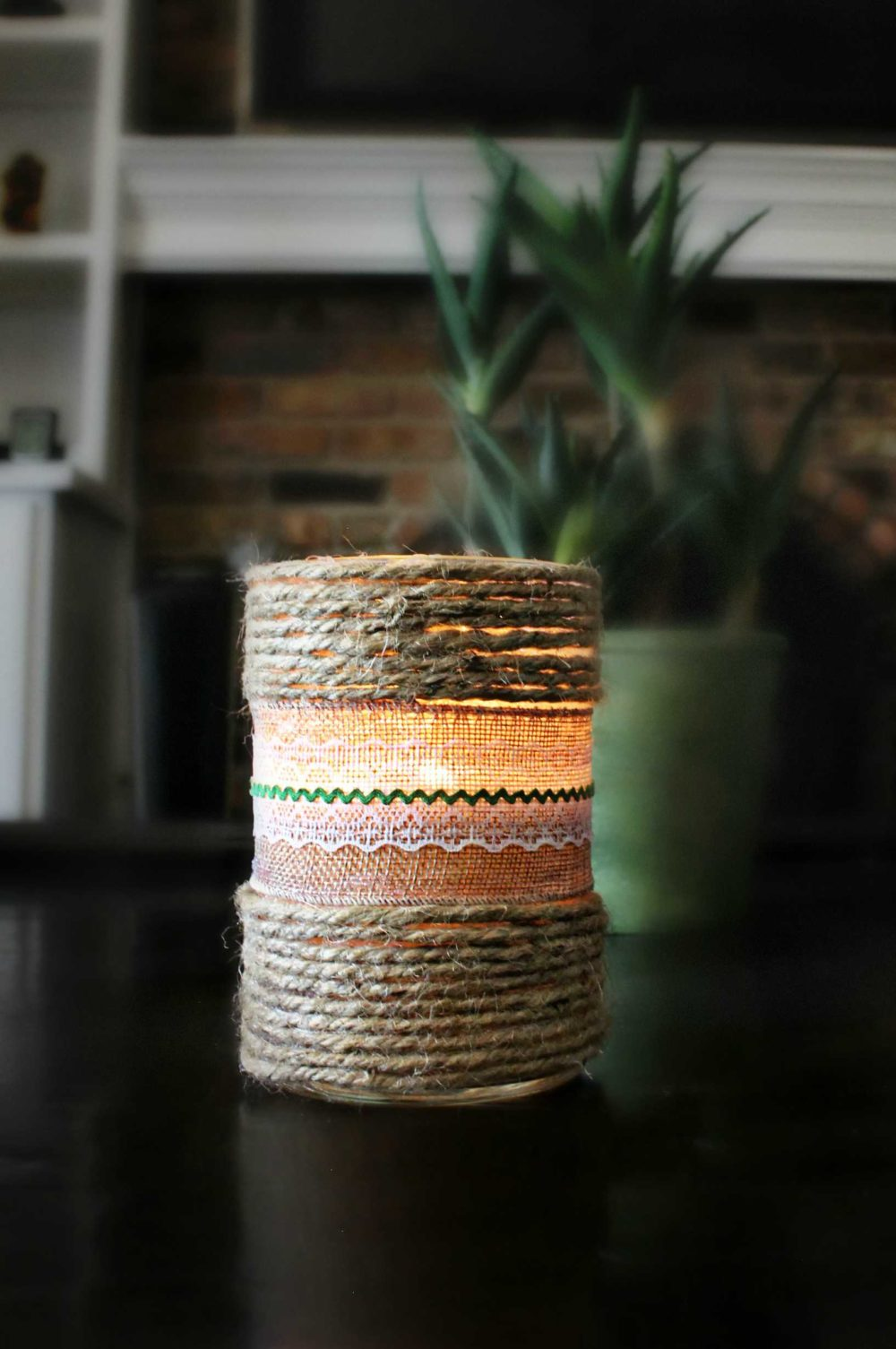 ribbon candles