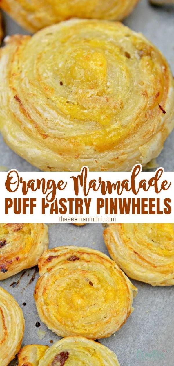 Orange pinwheels