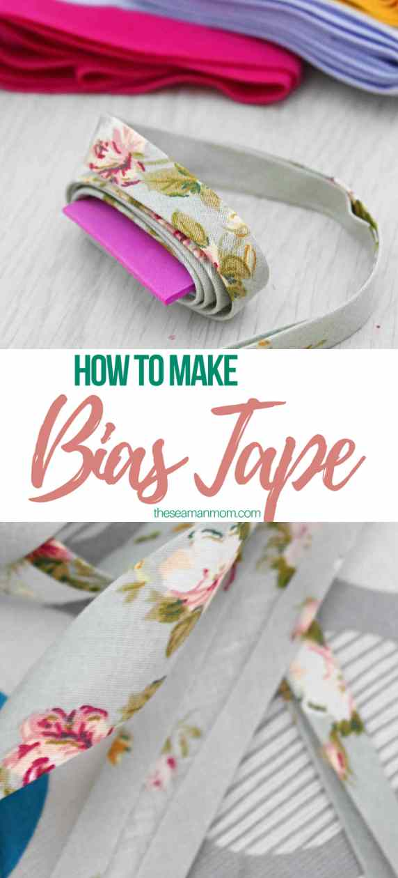 Sewing tutorial: Make your own bias tape without a bias tape maker