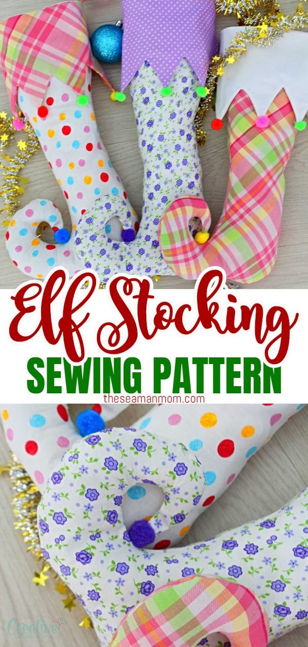 Looking for a fun Christmasstocking pattern idea? This elf stocking pattern might look fancy and complicated but it's super easy to make and would make a wonderful addition to your Christmas decor! via @petroneagu