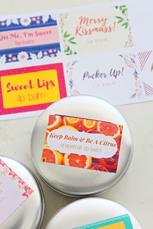 natural lip balm recipe