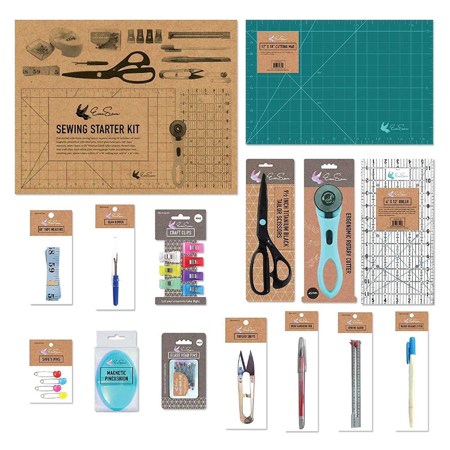 Sewing starter kit gifts for sewers