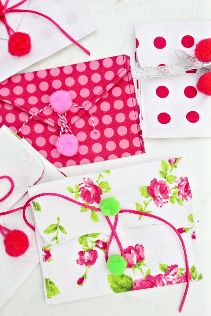Fabric envelope pattern