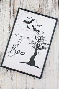 Boo printable