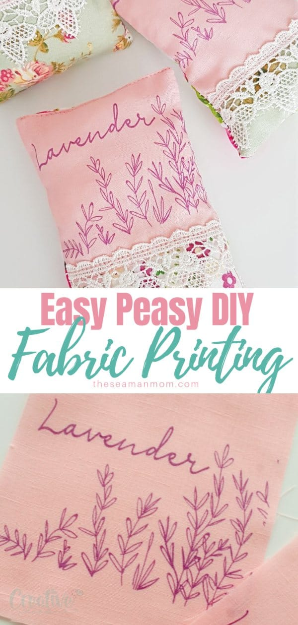 Printing on fabric might sound like something only pro's can do! Forget about the myths, custom fabric printing is super easy to achieve in the comfort of your own home. Here we'll show you how to print on fabric without any fancy tools or supplies! via @petroneagu