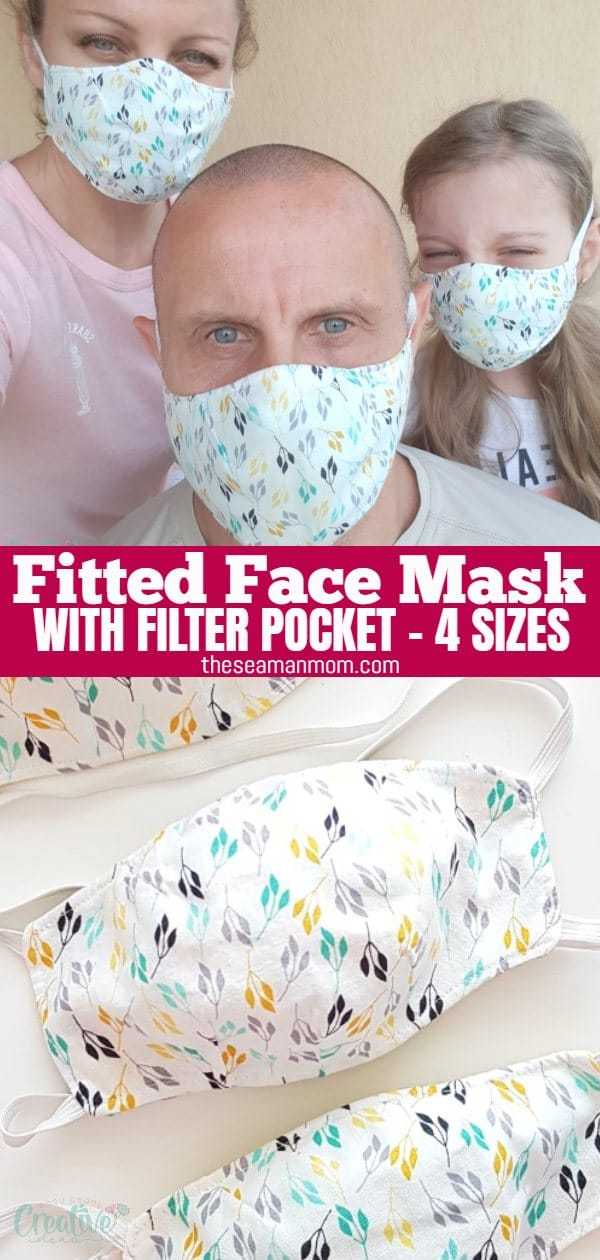 Face masks are still a must and might be until a vaccine is available on the market, so we need to have several ready and on hand! For those of you who like to be 100% fancy while still protected, I'm going to show you the easy way of making a triple-layer cotton face mask with filter pocket using a simple and easy fitted face mask pattern. via @petroneagu