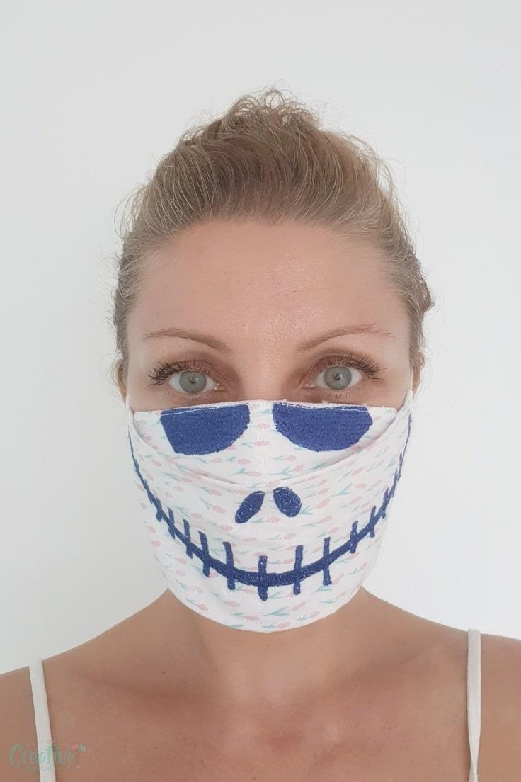 Halloween 3D face mask
