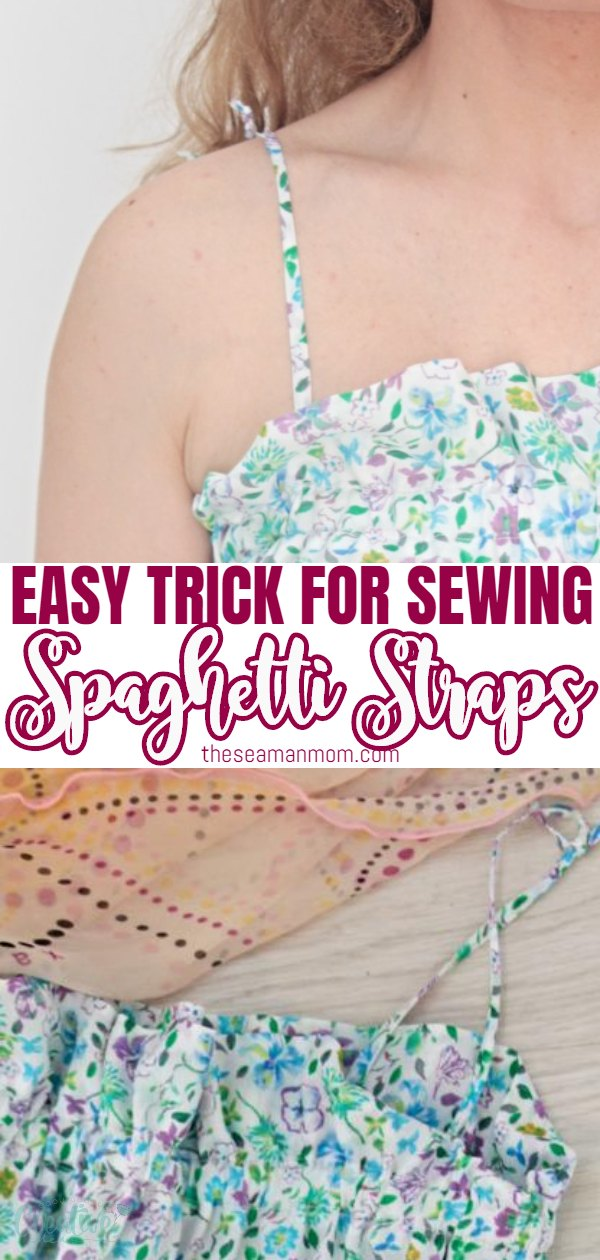 Spaghetti Straps Sewing Tutorial Easy Peasy Creative Ideas