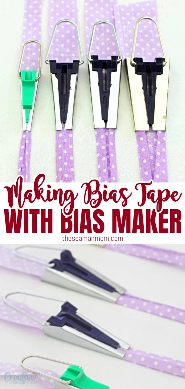 Love using bias binding but hate the store bought bias? Make your own with a bias tape maker, a cool gadget designed to turn bias strips into bias tape in a blink of an eye! Here you'll learn how to use a bias tape maker! via @petroneagu