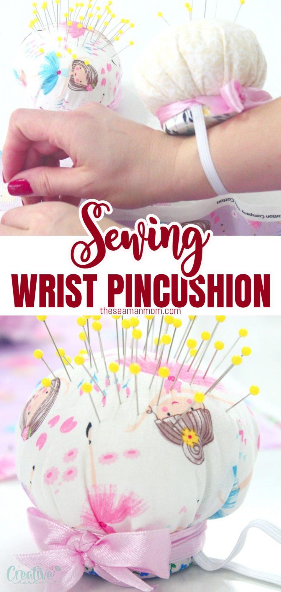 DIY wrist pin cushion