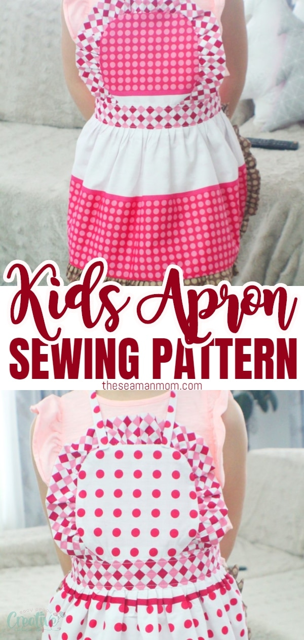 Looking for cutechildrens aprons ideas? A kids apron pattern is a great gift idea, so easy to make and comes together in no time! Thisreversible apron pattern looks so adorable, every little girl will be excited to wear it! via @petroneagu