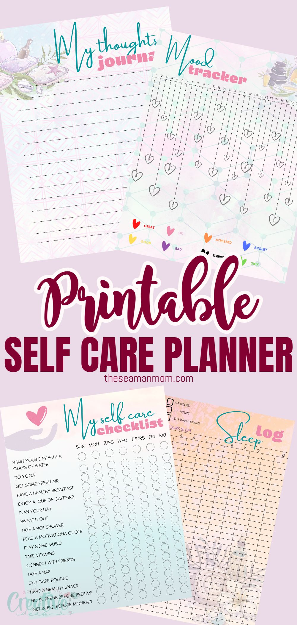 Instead of trying to work self-care into your busy schedule, why not make it a priority? With the help of this self care planner, you can keep track of all aspects of your health and well-being in one handy spot. via @petroneagu