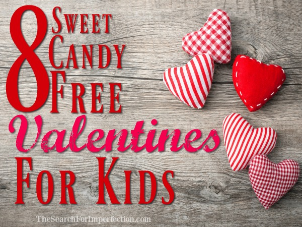8 Sweet Candy-Free Valentines for Kids