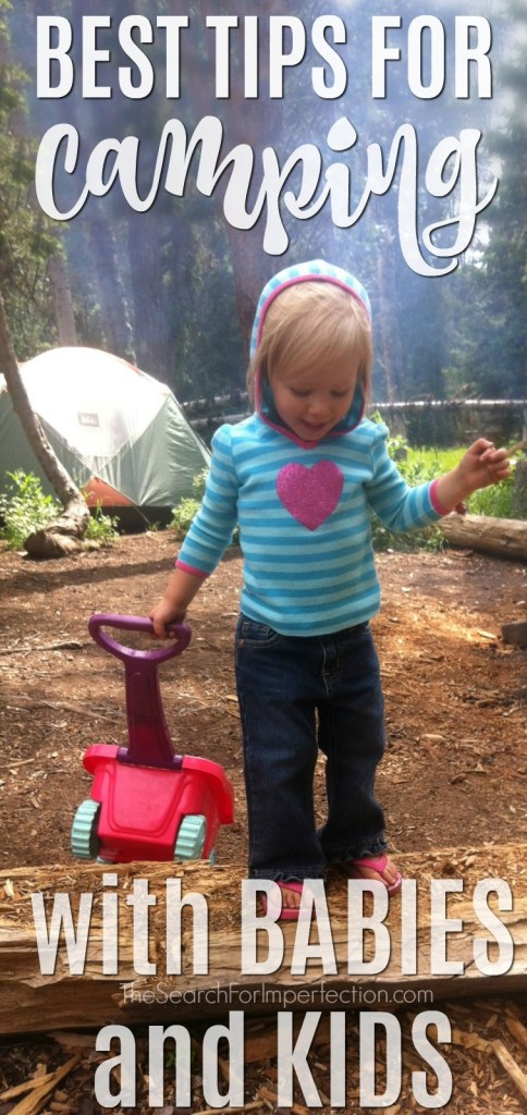 These are the Best Tips for Camping with Babies and Kids #howtocampwithkids #campingwithkids