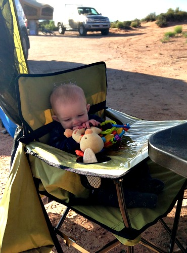 CampingBabyHighChair