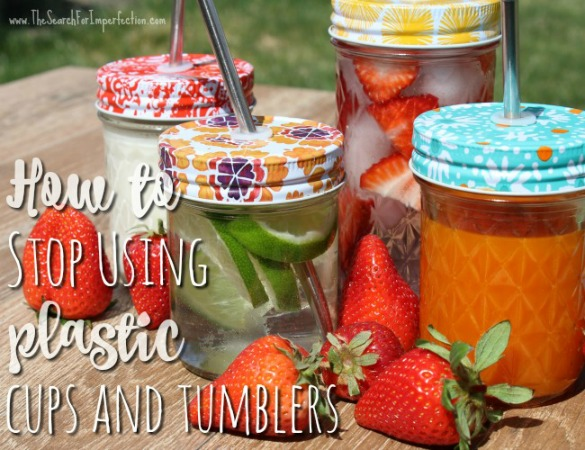 What to Use Instead of Plastic Cups – A Green, Easy DIY Alternative
