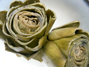 Perfectly Cooked Artichokes