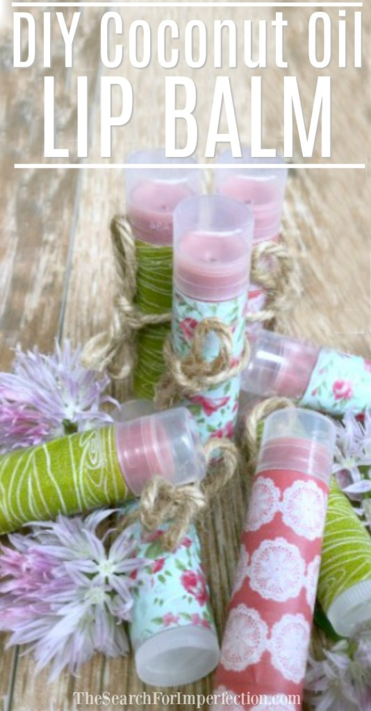 Once you see how easy this diy lip balm recipe is, you'll be addicted to making your own every time!