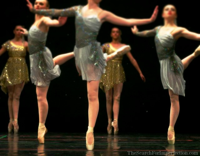 Recital Dancers en Pointe