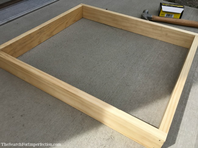 Basic Frame of a Jewelry Box