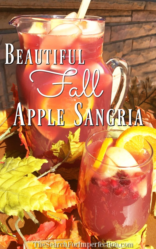 Easy and delicious Apple Spice Sangria is perfect for fall!