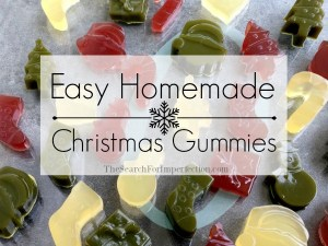 Homemade Christmas Fruit Snacks