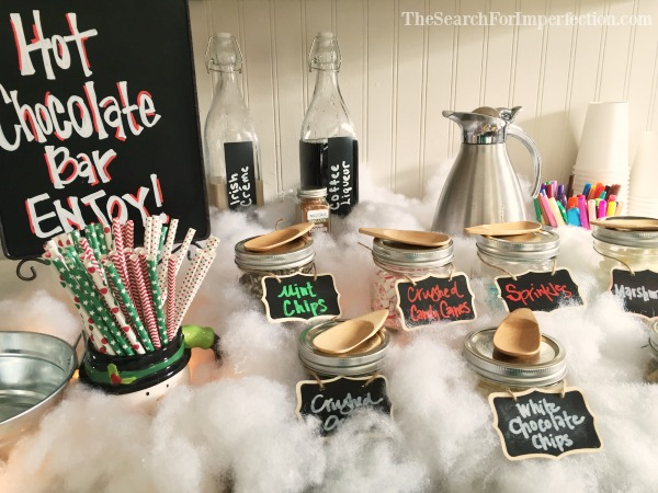 How to Set Up a Hot Cocoa Bar | An Easy DIY Cocoa Party