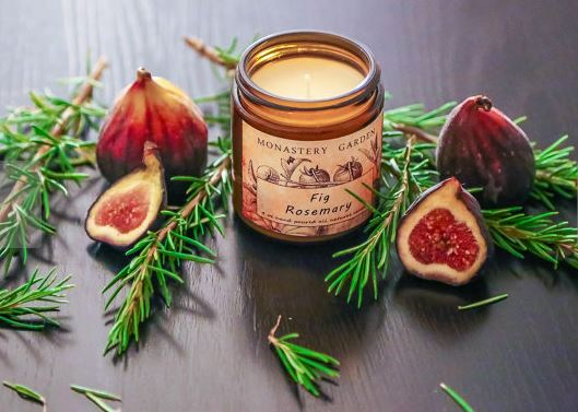 Rosemary Fig Scented Candle