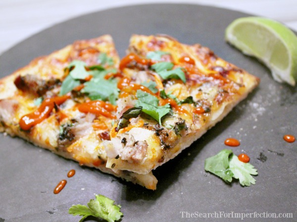 Slices of Banh Mi Pizza