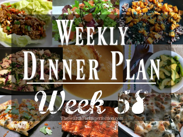 Weekly Dinner Plan Week 58 | 7 Nights of Dinner Ideas to Help You Eat at Home