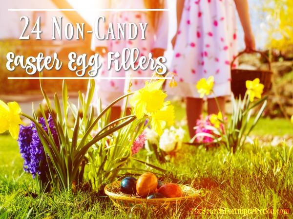 Non -Candy Easter Egg Fillers