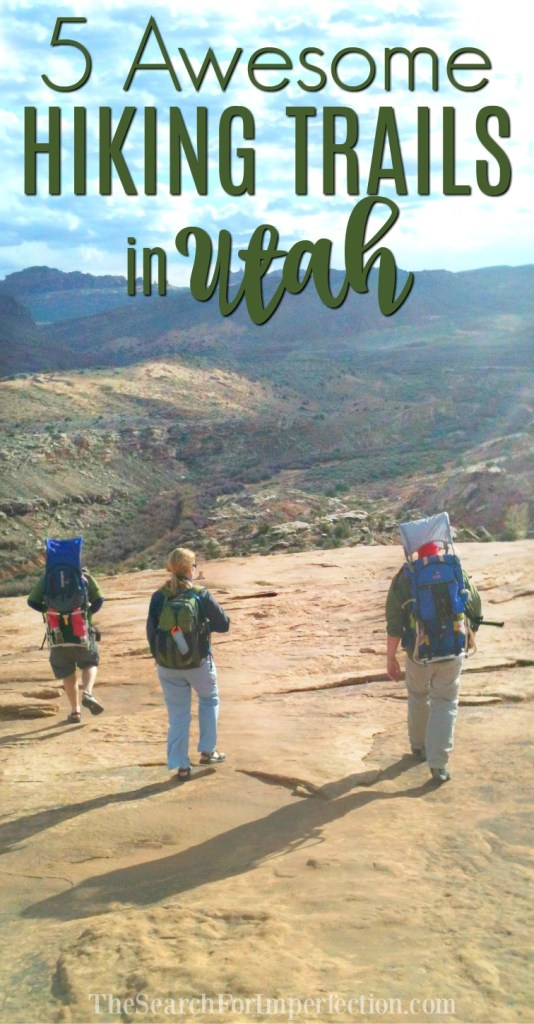 I love hiking, these are 5 awesome hiking trails in Utah!
