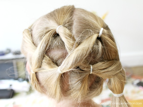 how to make criss cross hairstyle