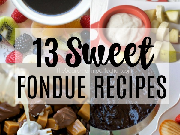 13 Sweet Fondue Recipes