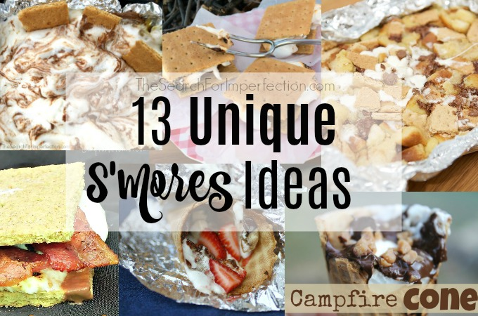 13 Unique S'mores Ideas