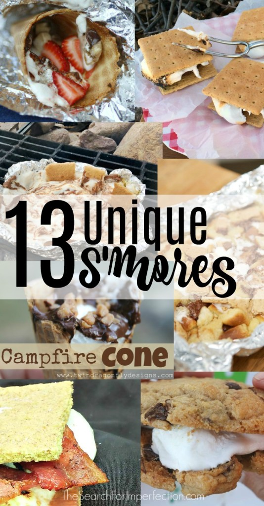 Forget the norm. Try these 13 Unique S'mores Ideas!