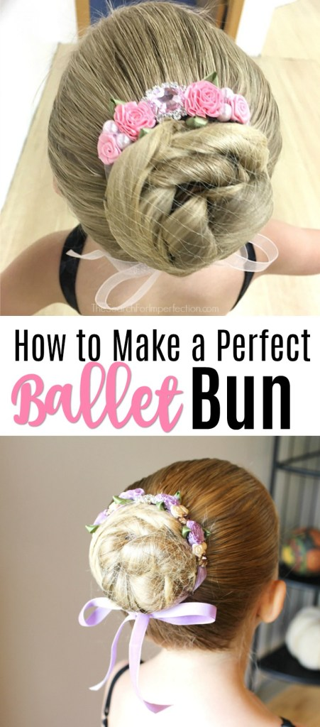 Such an easy tutorial on how to do a perfect ballet bun! #balletbuntutorial #hairtutorial #howtomakeabun