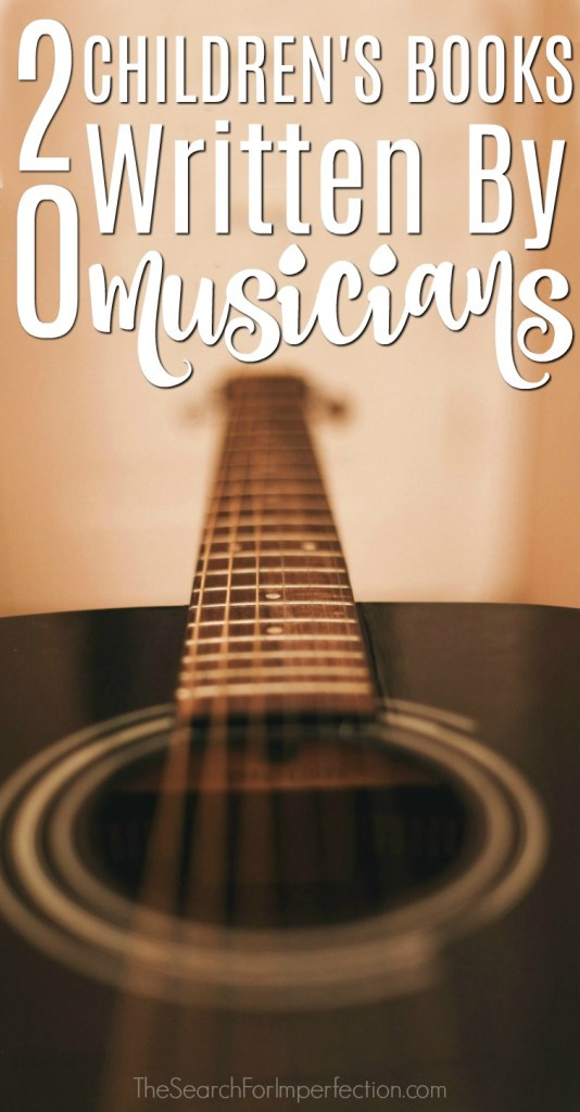 This list of children's books written by musicians is sure to put a smile on your face. #childrensbooks #bookgiftguide