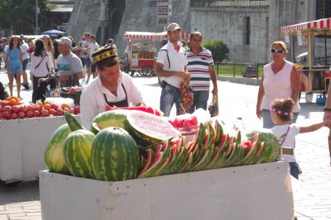 Watermellon seller
