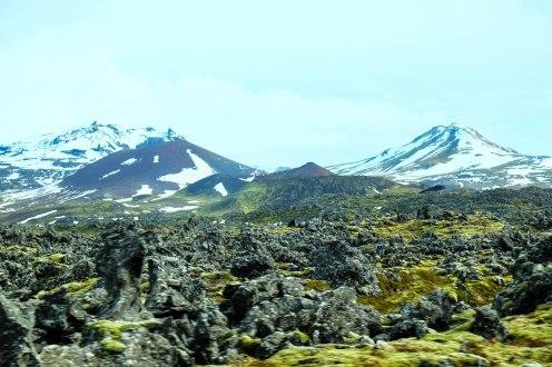 The lava fields of Berserkjahraun