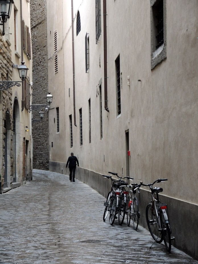 A quiet byway in Florence.
