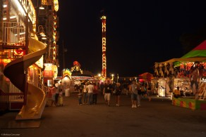 The midway.