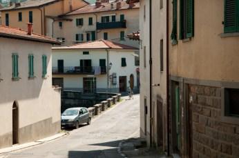 The bridge across the Arno.