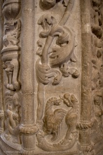 Detail of a column.