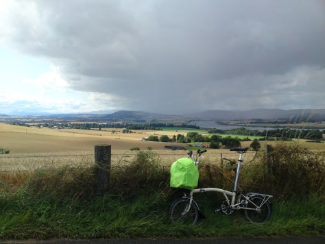 Brompton on the way to Aberdeen