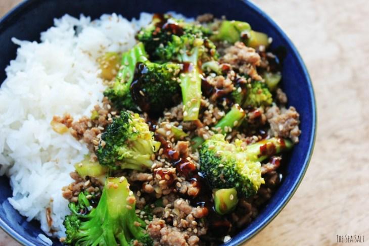 Spicy Hoisin Turkey and Broccoli Stir-Fry