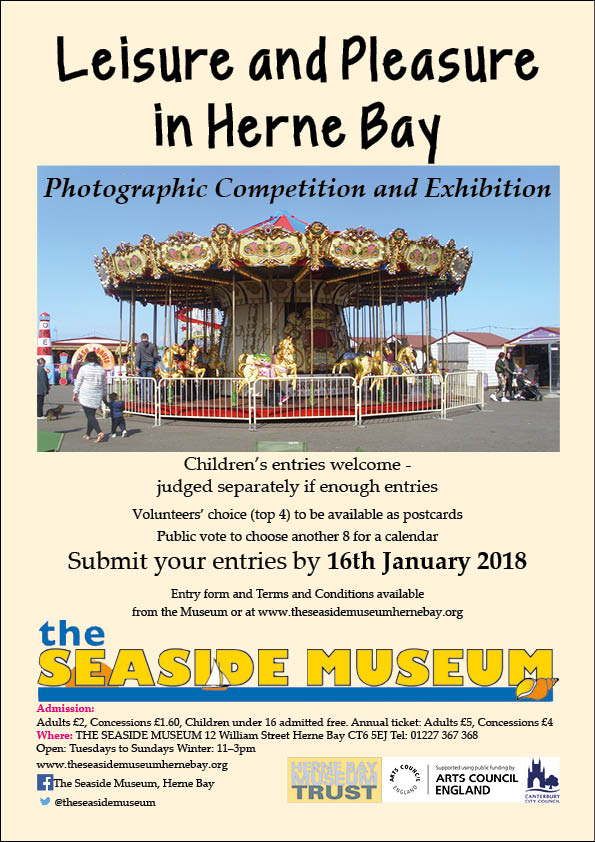 Photography exhibition – Leisure and Pleasure in Herne Bay