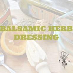 Balsamic Herb Dressing